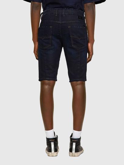 Diesel - D-KROOSHORT JOGGJEANS, Blu Scuro - Shorts - Image 2