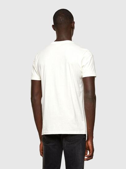 Diesel - T-DORYMO-A1, Bianco - T-Shirts - Image 2