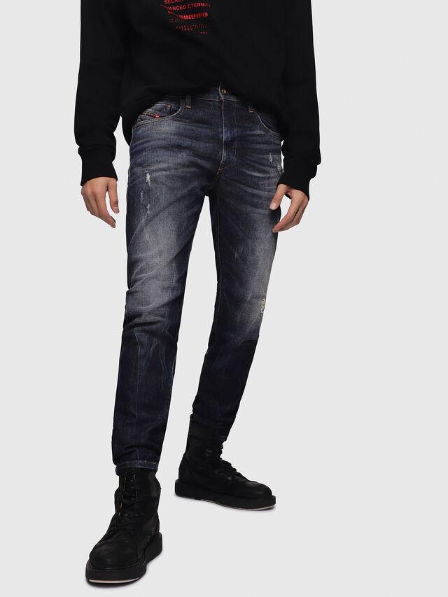 Diesel - D-Strukt 089AL, Blu Scuro - Jeans - Image 1