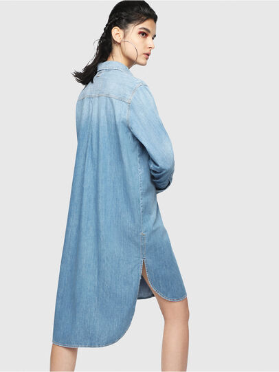 Diesel - DE-BLANCHE, Blu Jeans - Vestiti - Image 2