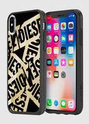 MULTI TAPE GOLD/BLACK IPHONE X CASE, Oro - Cover