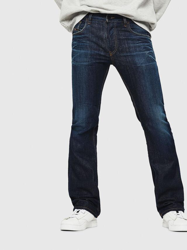 Diesel - D-Ligenz 088AN, Blu Scuro - Jeans - Image 1