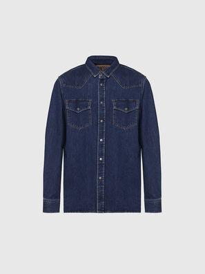 D-EAST-P, Blu Scuro - Camicie in Denim