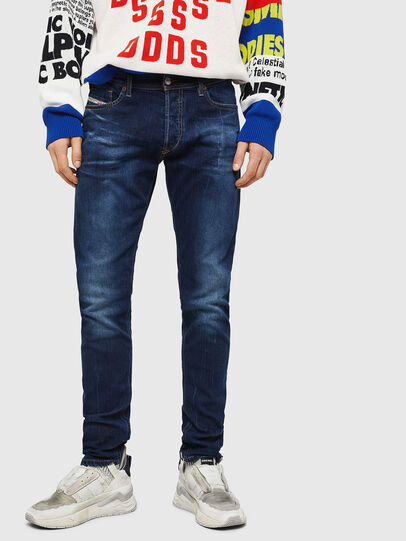 Diesel - Tepphar 083AT, Blu Scuro - Jeans - Image 1