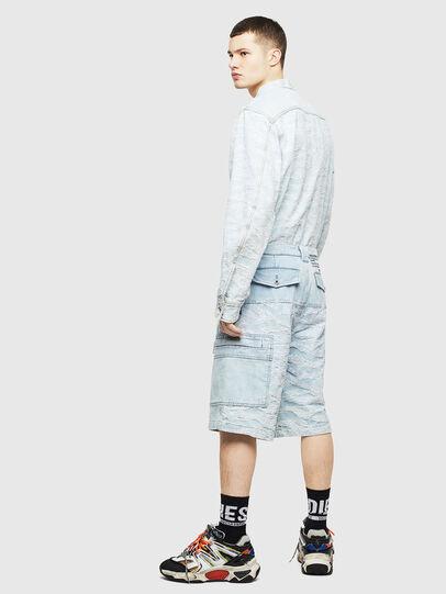 Diesel - D-LUK-SHORT, Blu Chiaro - Shorts - Image 4