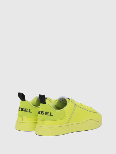 Diesel - S-CLEVER LOW LACE W, Giallo Fluo - Sneakers - Image 3