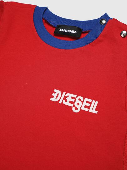 Diesel - DARRYSAB, Rosso - Vestiti - Image 3