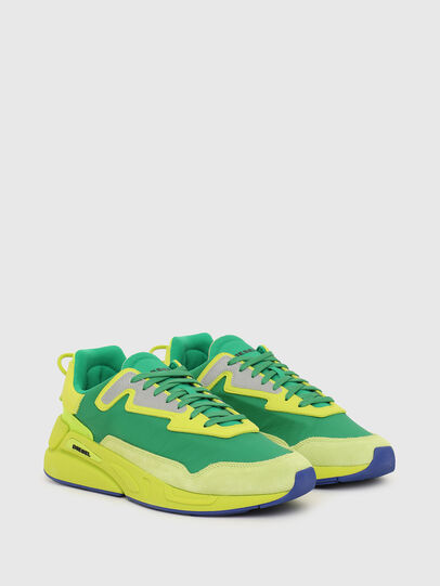 Diesel - S-SERENDIPITY LC, Giallo/Verde - Sneakers - Image 2