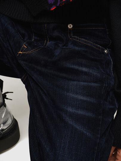 Diesel - Fayza 0091U, Blu Scuro - Jeans - Image 5