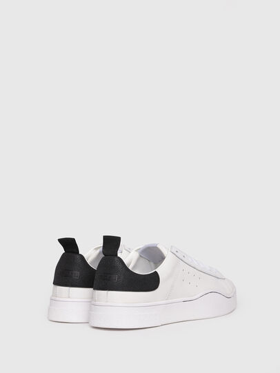 Diesel - S-CLEVER LOW, Bianco/Nero - Sneakers - Image 3