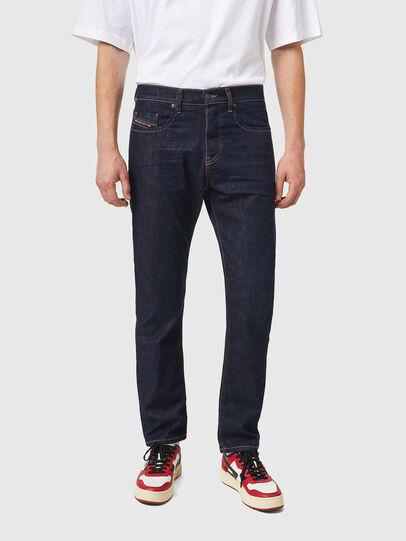 Diesel - D-Viker 084HN, Blu Scuro - Jeans - Image 1
