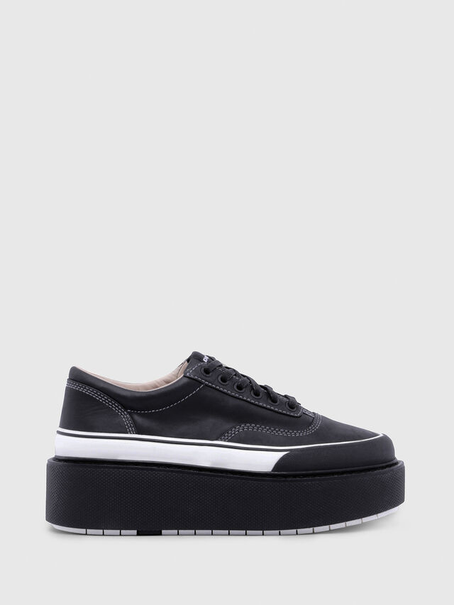 Diesel - H-SCIROCCO LOW, Nero/Bianco - Sneakers - Image 1