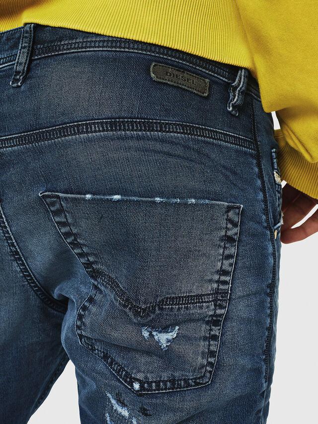 Diesel - Krooley JoggJeans 069HA, Blu medio - Jeans - Image 4