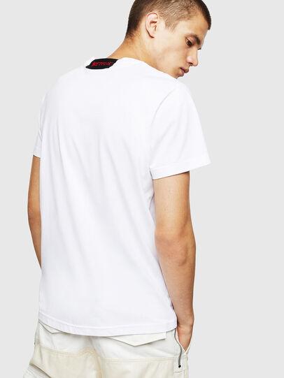 Diesel - LCP-T-DIEGO-BOGOTA, Bianco - T-Shirts - Image 3