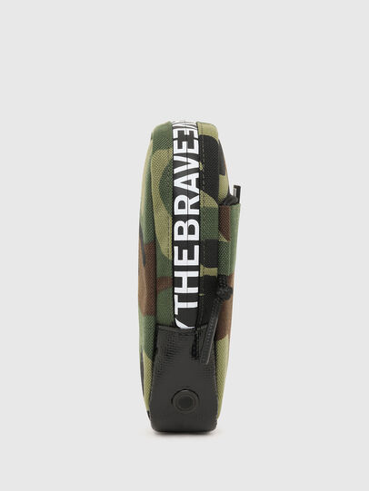 Diesel - FAYRCASE, Verde Militare - Portafogli Con Zip - Image 3