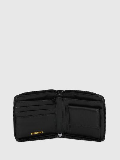 Diesel - ZIPPY HIRESH S, Nero/Giallo - Portafogli Con Zip - Image 3