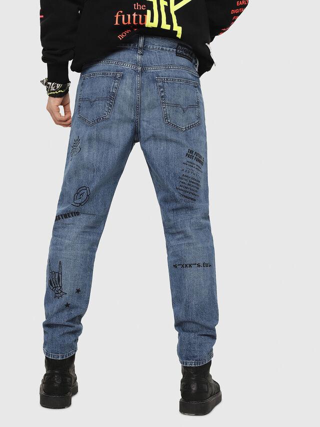Diesel - Mharky 0094D, Blu medio - Jeans - Image 2