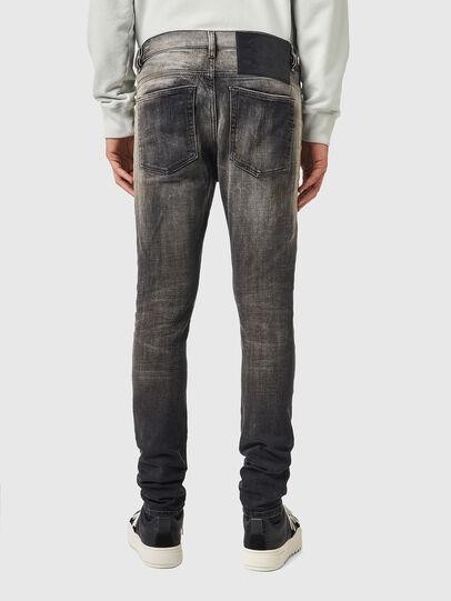 Diesel - D-Amny 09A88, Nero/Grigio scuro - Jeans - Image 2