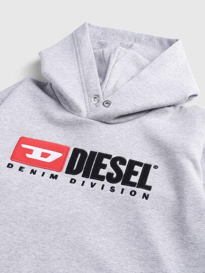 Diesel - SDIVISION OVER, Grigio - Felpe - Image 3