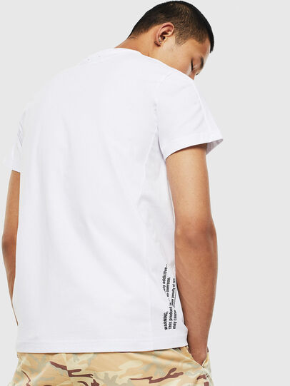 Diesel - T-HOVER, Bianco - T-Shirts - Image 2