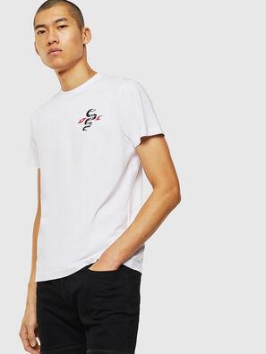 T-DIEGO-J16, Bianco - T-Shirts