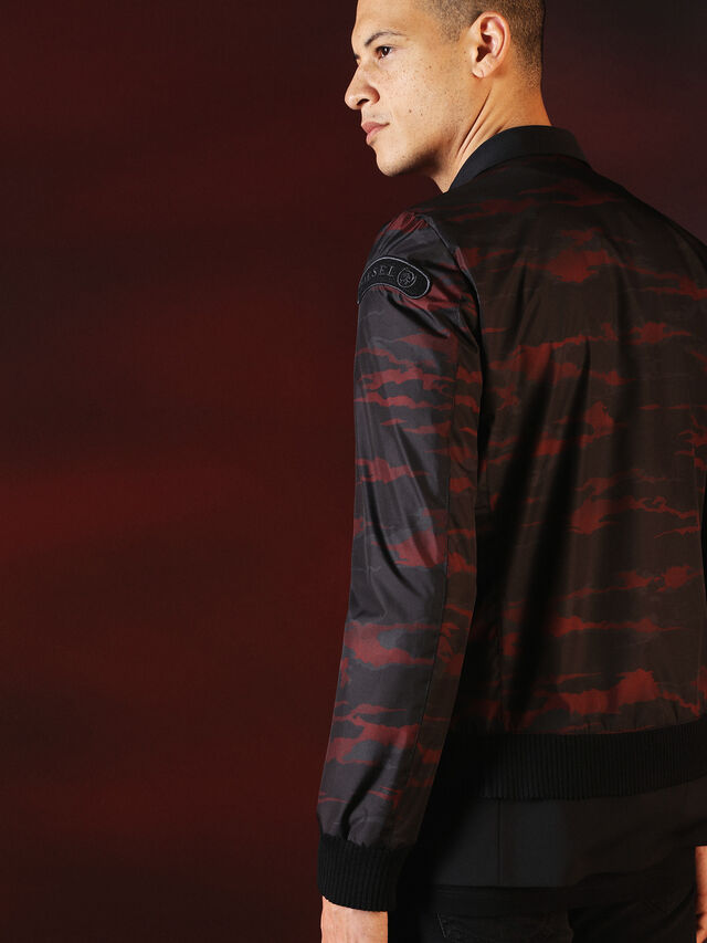 Diesel - DVL-JACKET-SPECIAL COLLECTION, Nero - Giacche - Image 5