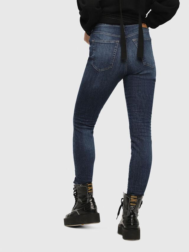 Diesel - Babhila High 089AH, Blu Scuro - Jeans - Image 2