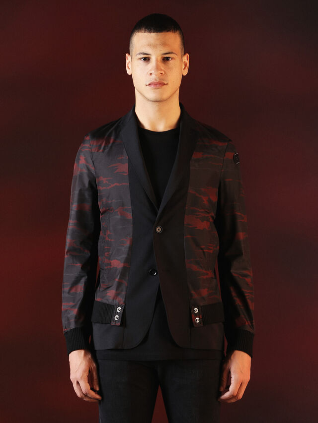Diesel - DVL-JACKET-SPECIAL COLLECTION, Nero - Giacche - Image 1
