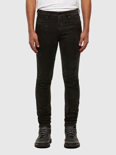 Diesel - D-Strukt JoggJeans 009GH, Nero/Grigio scuro - Jeans - Image 1