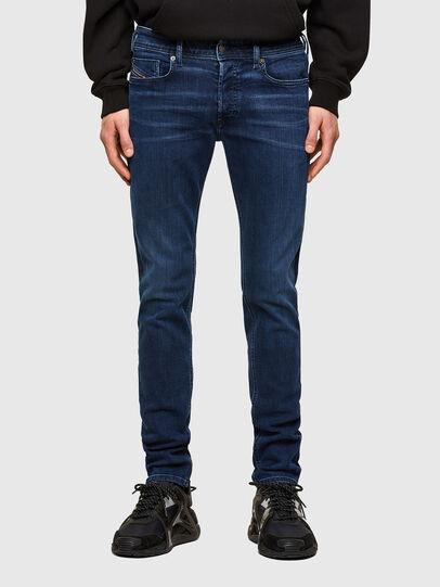Diesel - Sleenker 009QI, Blu Scuro - Jeans - Image 1