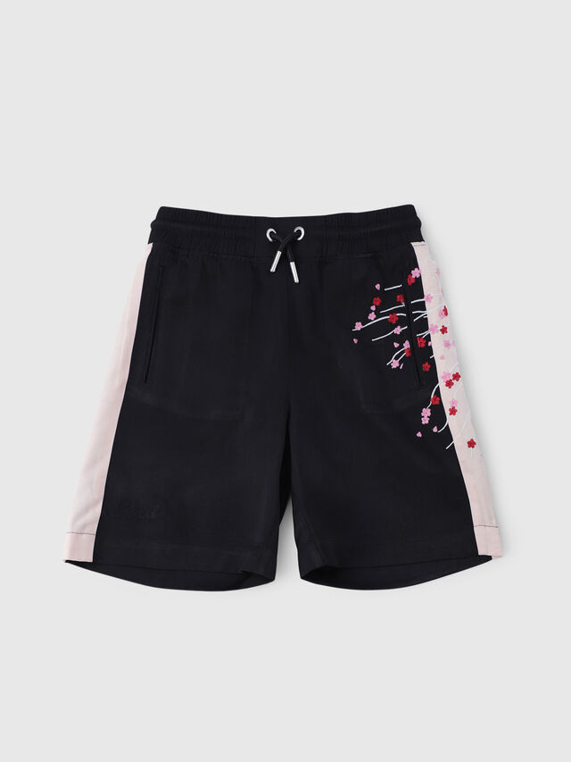 Diesel - PSLARRY, Nero - Shorts - Image 1