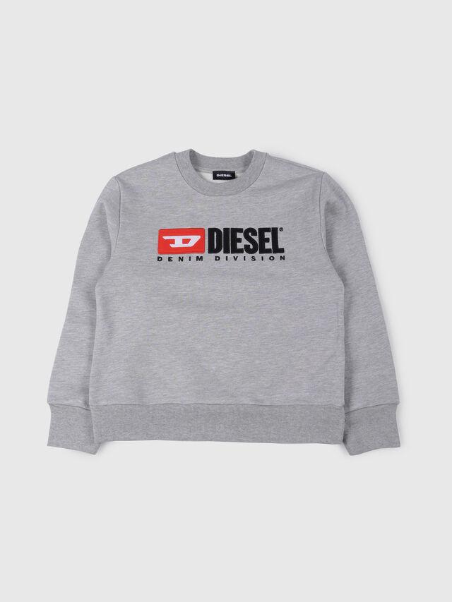 Diesel - SCREWDIVISION OVER, Grigio - Felpe - Image 1