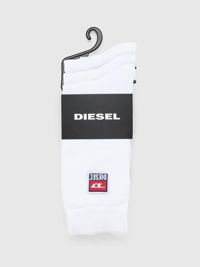 Diesel - SKM-RAY-THREEPACK, Bianco - Calzini - Image 2