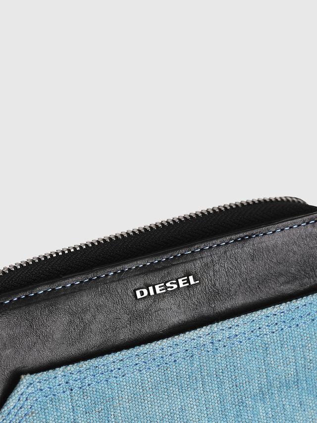 Diesel - BUSINESS II, Nero/Blu - Portafogli Piccoli - Image 4