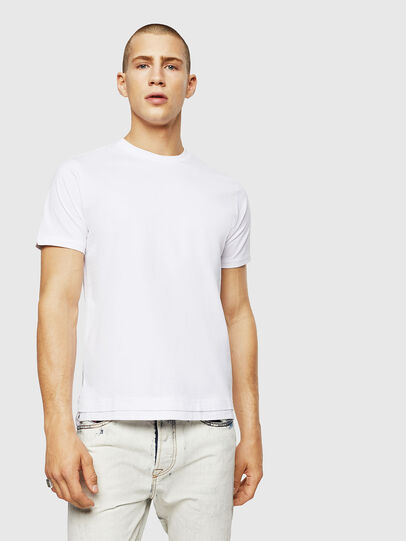 Diesel - T-DIAMANTIK-NEW, Bianco - T-Shirts - Image 1