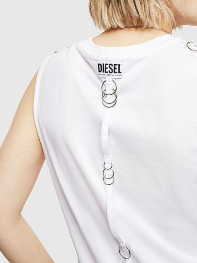 Diesel - T-LESLEE-A, Bianco - Tops - Image 3