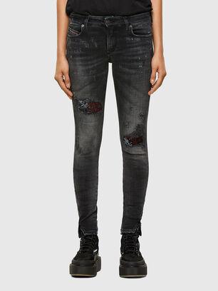 D-Jevel 009JN, Nero/Grigio scuro - Jeans