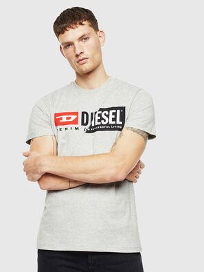 T-DIEGO-CUTY, Grigio - T-Shirts