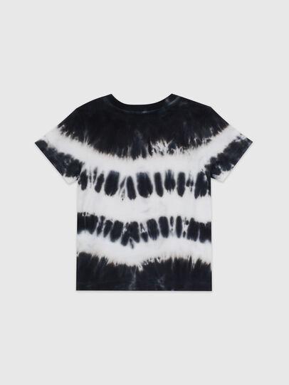 Diesel - TAREZB, Nero/Bianco - T-shirts e Tops - Image 2