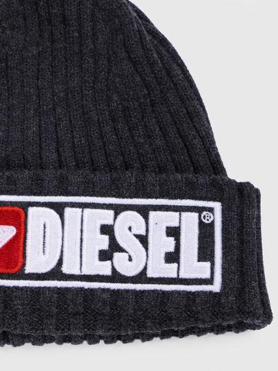 Diesel - K-CODER-B, Nero - Cappelli invernali - Image 3