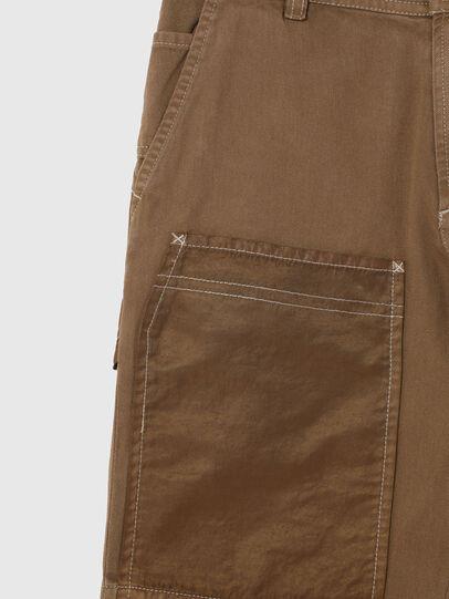 Diesel - PTRENTSHORT, Marrone - Shorts - Image 2