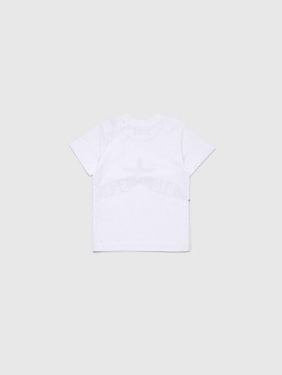 Diesel - TDIEGOA7B, Bianco - T-shirts e Tops - Image 2