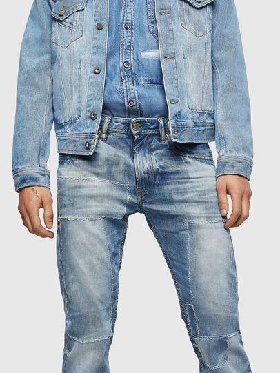 Diesel - Thommer 0092F, Blu Chiaro - Jeans - Image 3
