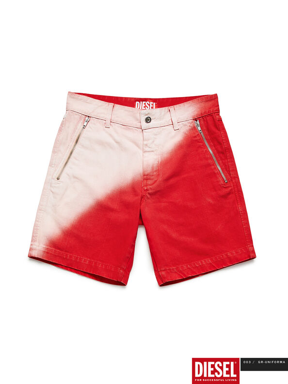 GR02-P303, Rosso/Bianco - Shorts