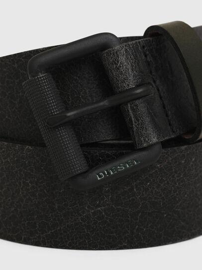 Diesel - B-CLIN, Nero - Cinture - Image 2