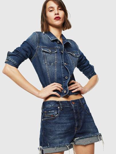 Diesel - DE-LOWY, Blu medio - Shorts - Image 4
