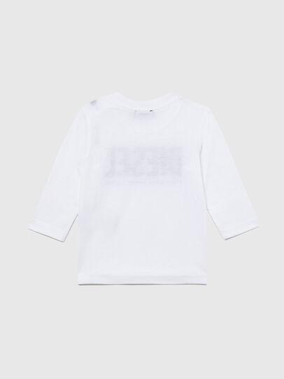 Diesel - TJUSTLOGOB ML, Bianco - T-shirts e Tops - Image 2