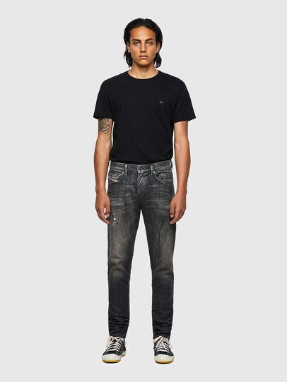 Diesel - D-Strukt JoggJeans® 09B54, Nero/Grigio scuro - Jeans - Image 5