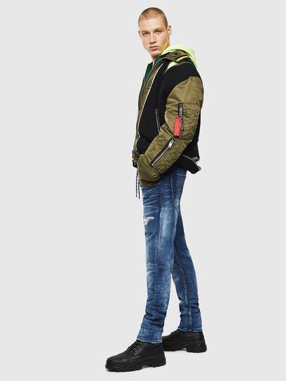 Diesel - Krooley JoggJeans 0097N, Blu Scuro - Jeans - Image 6