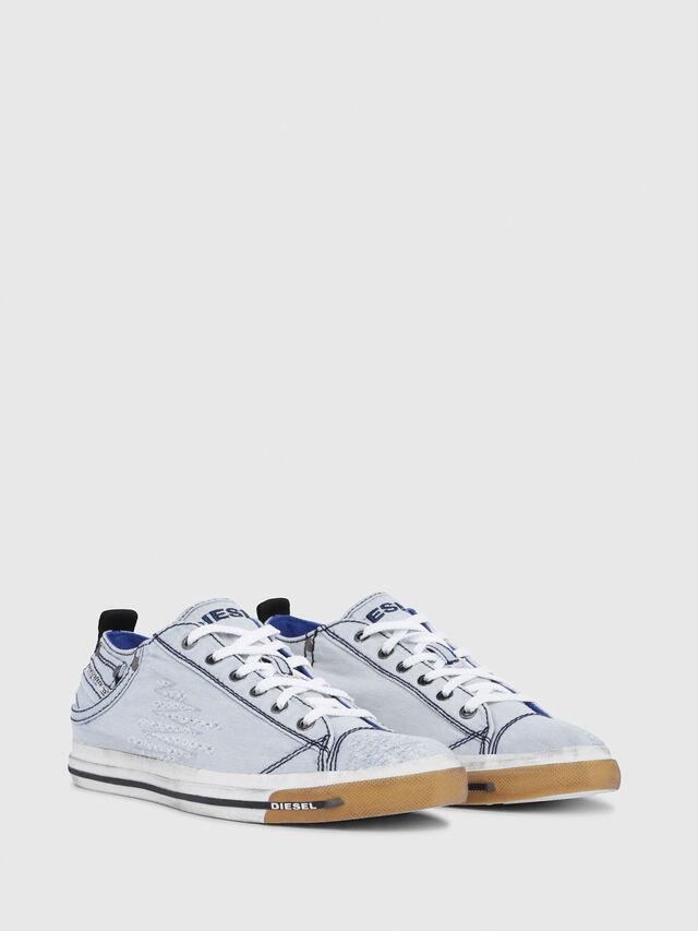 Diesel - EXPOSURE LOW I, Blu Chiaro - Sneakers - Image 2